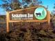 ENTRANCE SIGN, SASKATOON FORESTRY FARM PARK, SASKATOON