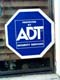 ADT SECURITY SERVICES SIGN IN WINDOW, SASKATOON