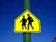 CHILDREN CROSSING SCHOOL ZONE SIGN, SASKATOON
