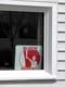 BLOCK PARENT SIGN IN WHITE WINDOW, SASKATOON