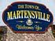 TOWN OF MARTENSVILLE ENTRANCE SIGN, MARTENSVILLE