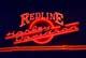 REDLINE HARLEY DAVIDSON NEON SIGN, SASKATOON