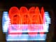 OPEN NEON SIGN, ZOOMING MOTION, YORKTON