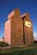 ALBERTA WHEAT POOL ELEVATORS IN SUMMER, ROWLEY