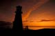 LIGHTHOUSE AND LOVERS AT SUNSET, JACKFISH LAKE, COCHIN
