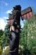 TOTEM POLE OF THUNDERBIRD, DUNCAN, VANCOUVER ISLAND