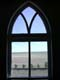 CHURCH WINDOW FRAMING PRAIRIE, GARDEN GALLERY, MADISON